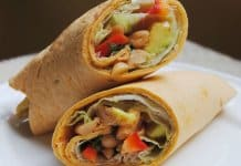 Paneer And Salsa Wraps - Brunch Recipe For Healthy Eating