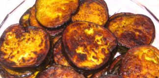 Fried Aubergine