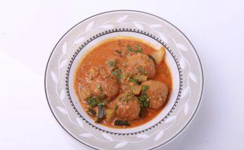 Pigeon Pea Kofta Curry